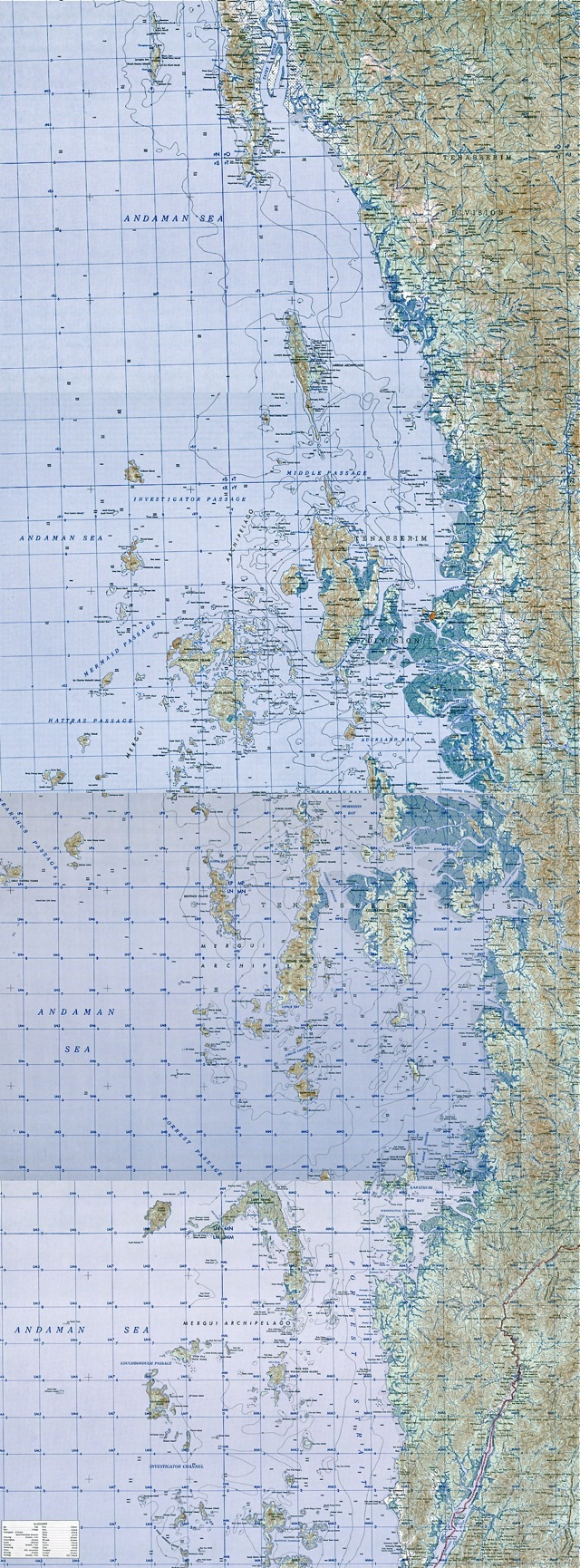 Mergui Archipelago Map