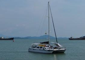 Mergui Sailing Catamaran Cataleya